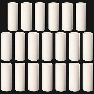 """Big Blue Sediment Replacement Water Filters 20 pc 1 Micron 4.5"""" x 10"""" Cartridges"""