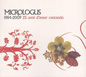 1984-2009-25-anni-d-039-amor-cantando-CD-EDIZIONE-LIMITATA-MICROLOGUS