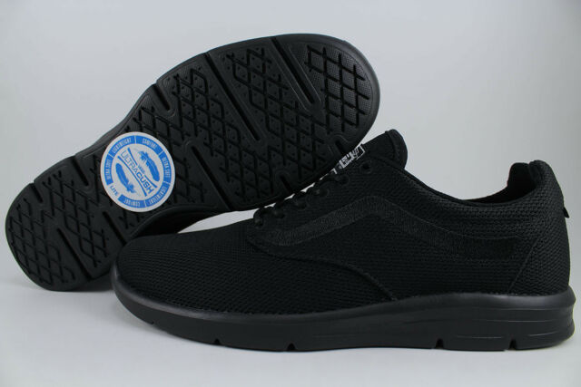 ff1f79bb3a84aa VANS ISO 1.5 MONO TRIPLE BLACK MESH ROSHE LIFESTYLE LIGHTWEIGHT LITE MENS  SIZES