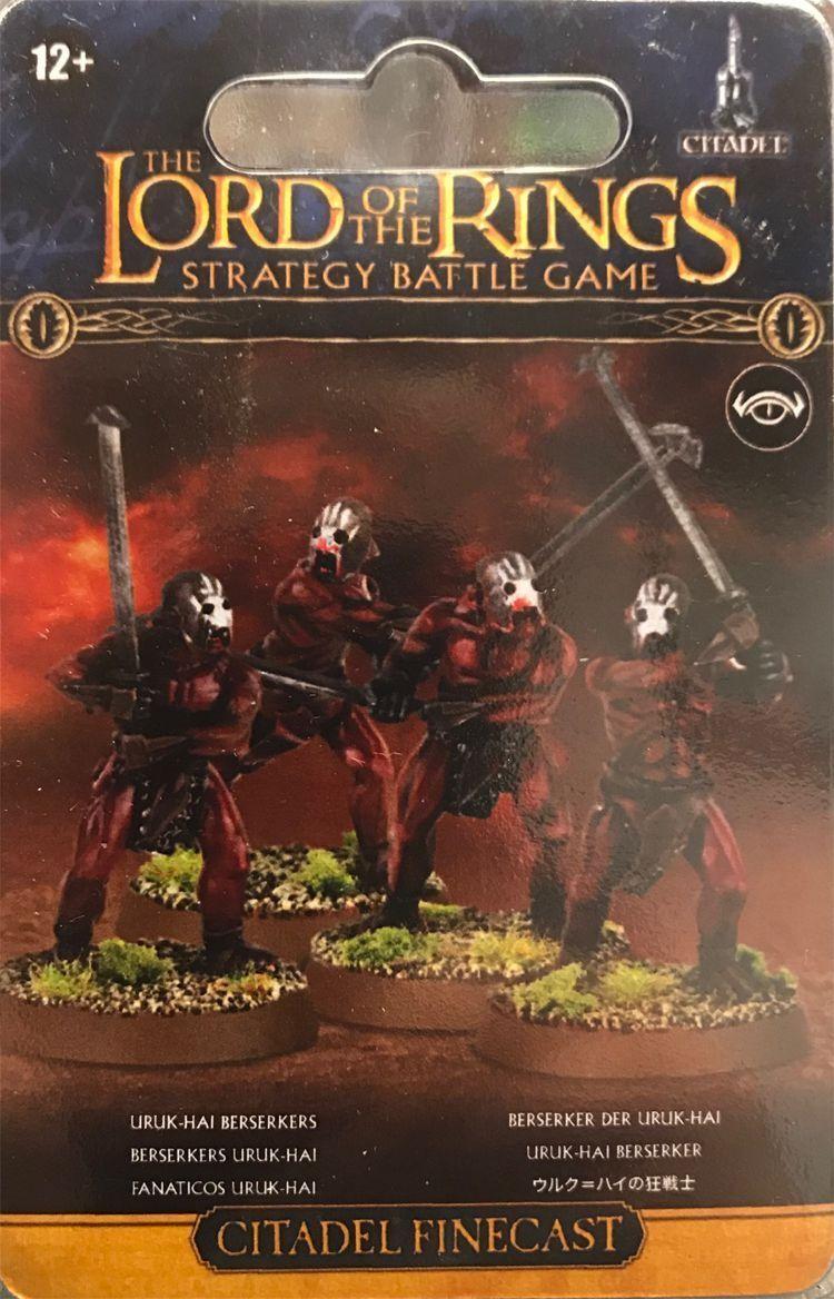 Lord of the Rings Berserker the Uruk-Hai Games Workshop Hdr Lotr Middle Earth