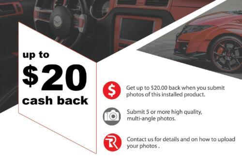 Rdash Carbon Fiber Dash Kit for Toyota Camry 2012-2014