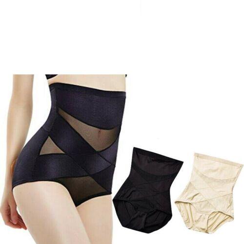 black beige pink  high waist tummy control girdle slim shaper underwear U.S