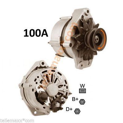 Neu Lichtmaschine 100A VW T4 California Caravelle Transporter 01//95 2.4 Diesel