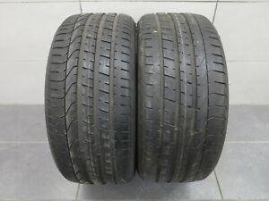 2x-Pneus-D-039-ete-Pirelli-Pzero-AO-255-35-r19-96y-5-5-6-2-mm