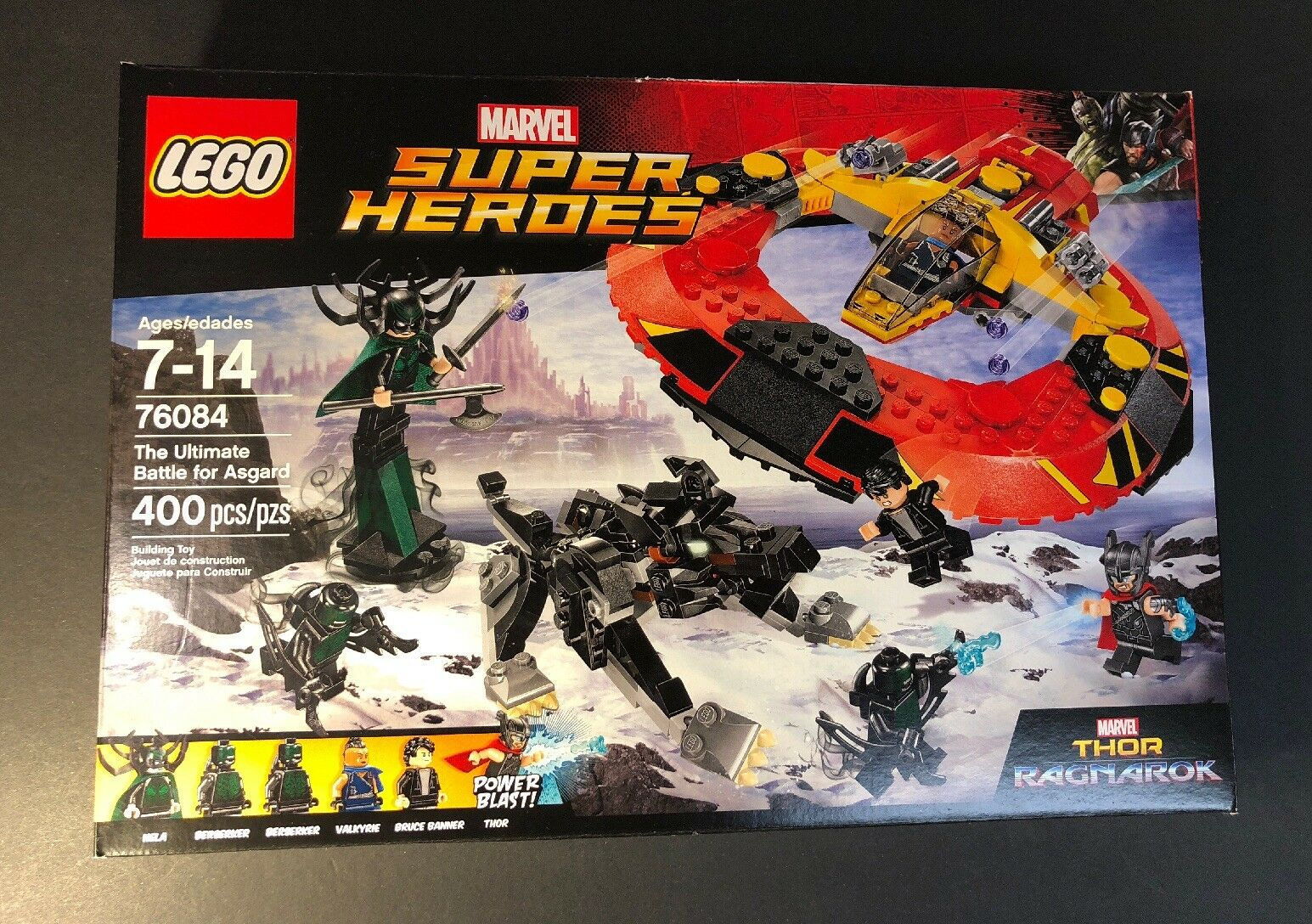 LEGO Marvel Super Heroes 76084 [ The Ultimate Battle for Asgard ] NEW
