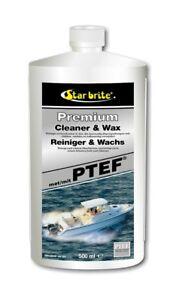 Star brite Premium Reiniger & Wachs mit PTEF 89616DGP 500 ml