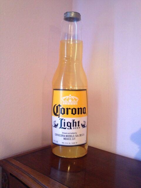 Corona Light Beer Inflatable Hanging Bottle Sign New!! Man Cave Tiki Bar Beach