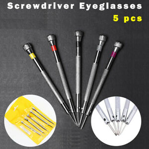 5Pcs-Precision-Screwdriver-Eyeglasses-Watch-Jewelry-Watchmaker-Repair-Tool-Set