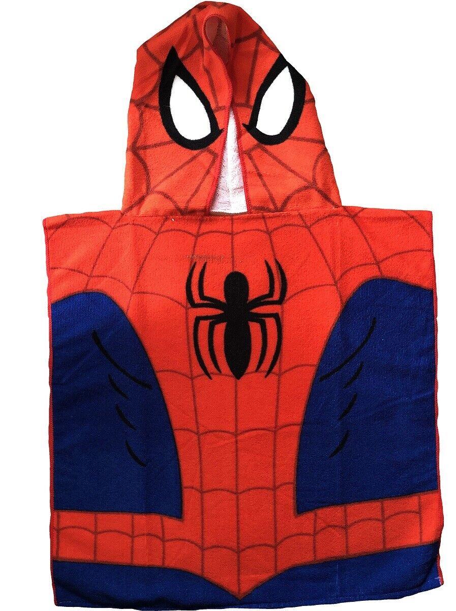 Spiderman Poncho Hooded Beach Towel