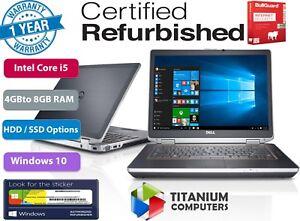 DELL-LATITUDE-E6320-13-3-034-CORE-i5-2-5GHZ-Upto-8GB-Ram-1TB-HDD-OR-SSD-Windows-10