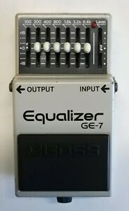 BOSS-GE-7-Equalizer-Guitar-Effects-Pedal-made-in-Japan-1991-236-Free-Shipping