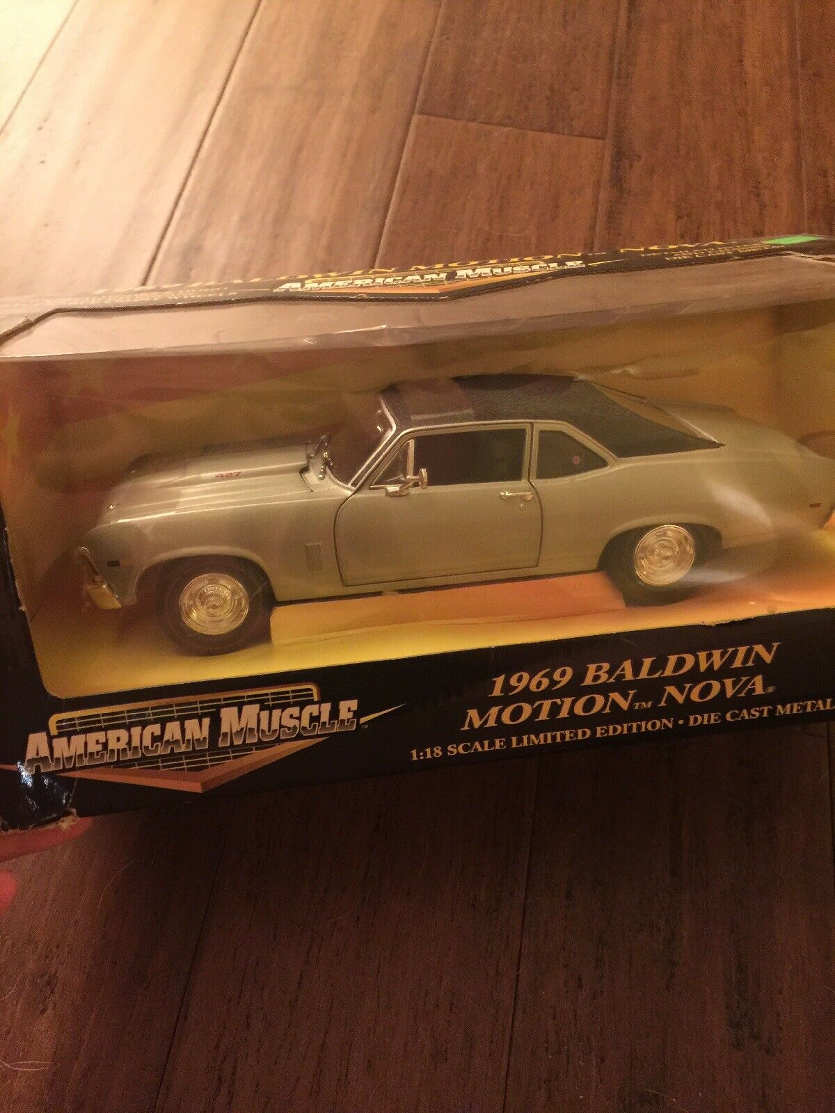 American Muscle 1969 Chevy Baldwin Motion Nova 1 18 Scale Limited Edition