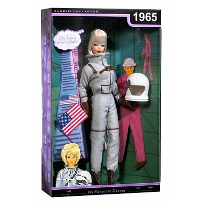 Vintage USA 1965 Miss ASTRONAUT Space NASA Barbie Career Collector Doll RARE New