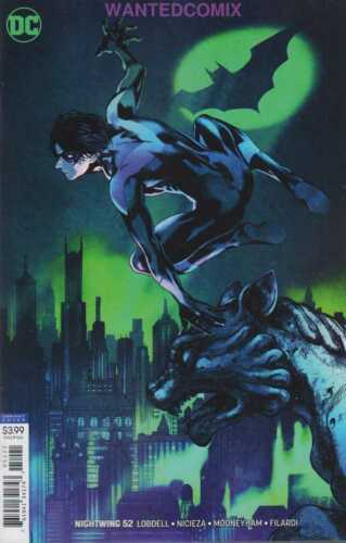NIGHTWING #52 VARIANT COVER NOV 2018 DC COMIC BOOK NEW 1 BLUDHAVEN