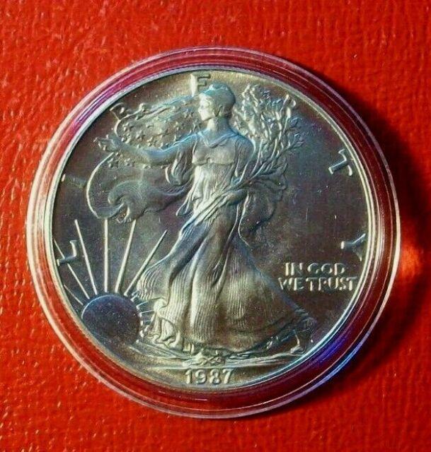1987 American Eagle 1 oz Silver Dollar Brilliant Uncirculated