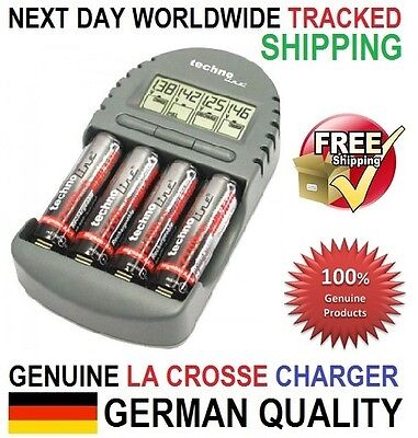Original Genuine La Crosse (Technoline) BC-450 Smart Charger Tester, AA/AAA, EU