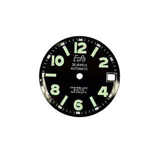 Zifferblatt-Ersatzteil-f-EUFA-AUTOMATIC-ARMBANDUHR-D27-6-Uhr-watch-dial