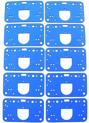 For Holley Carburetor Metering Block Gasket 2300 4150 4160 4500 10PK G16