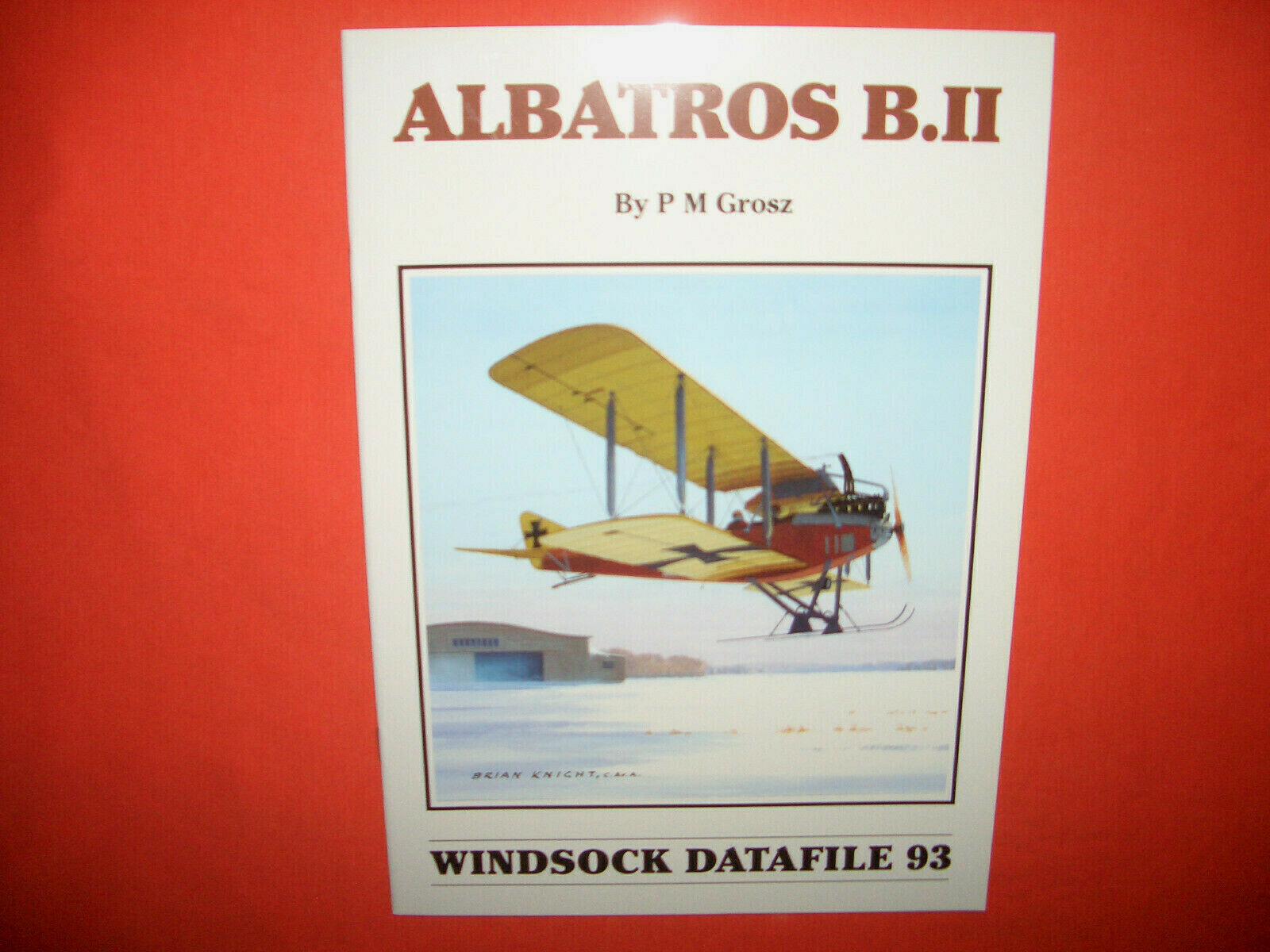 Windsock Datafile 93, ALBATROS B.II