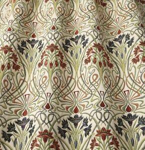 Iliv Tiffany Jewel William Morris Style Curtain Upholstery Fabric