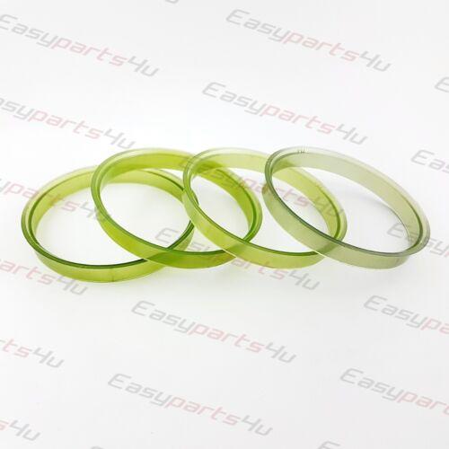 4x Plastique Bagues De Centrage 76,0-72,6 mm pour roues en alliage
