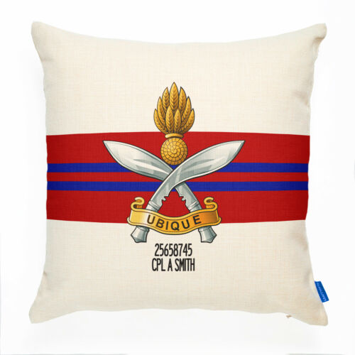 Queen/'s Gurkha Engineers Cushion Cover PERSONALISED British Military Gift MC18