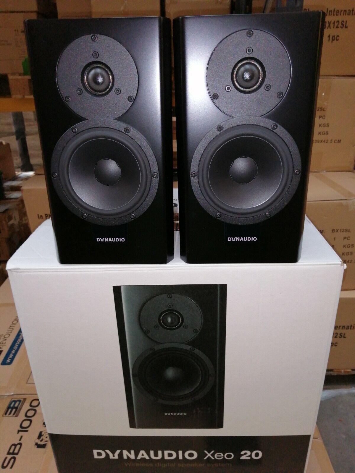 Dynaudio Xeo 20 Black Active Speakers - Ex-Demonstration