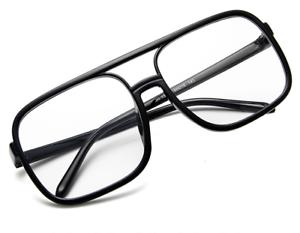 Fashion-Vintage-Oversize-Square-Eyeglasses-Women-Men-Frames-Eyewear-Glasses-RX