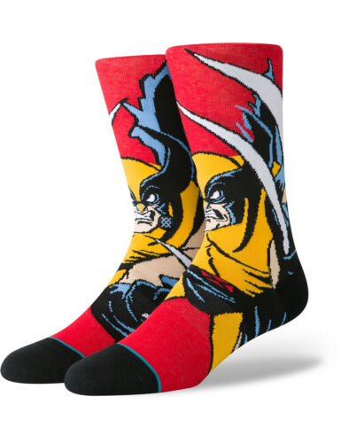 Stance Xmen Wolverine Crew Socks in Red