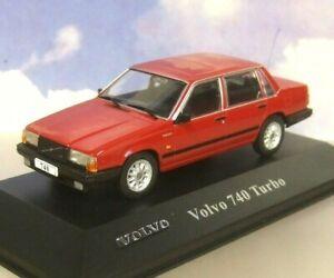 VOLVO 740 Turbo red Atlas 1:43