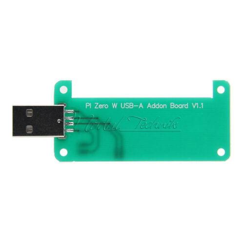 USB-A Addon Board USB Connector V1.1 RPi0 Adapter For Raspberry Pi Zero W Zero