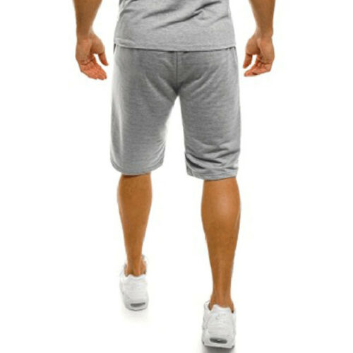 Mens Pants Sport Shorts Fit Sweatpants Jogger Gym Trousers Summer Casual Bottoms