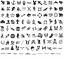 Indexbild 1 - Eulenspiegel Selbstklebende-Schablonen für Tattoos, zum Ausmalen, zum Airbrushen