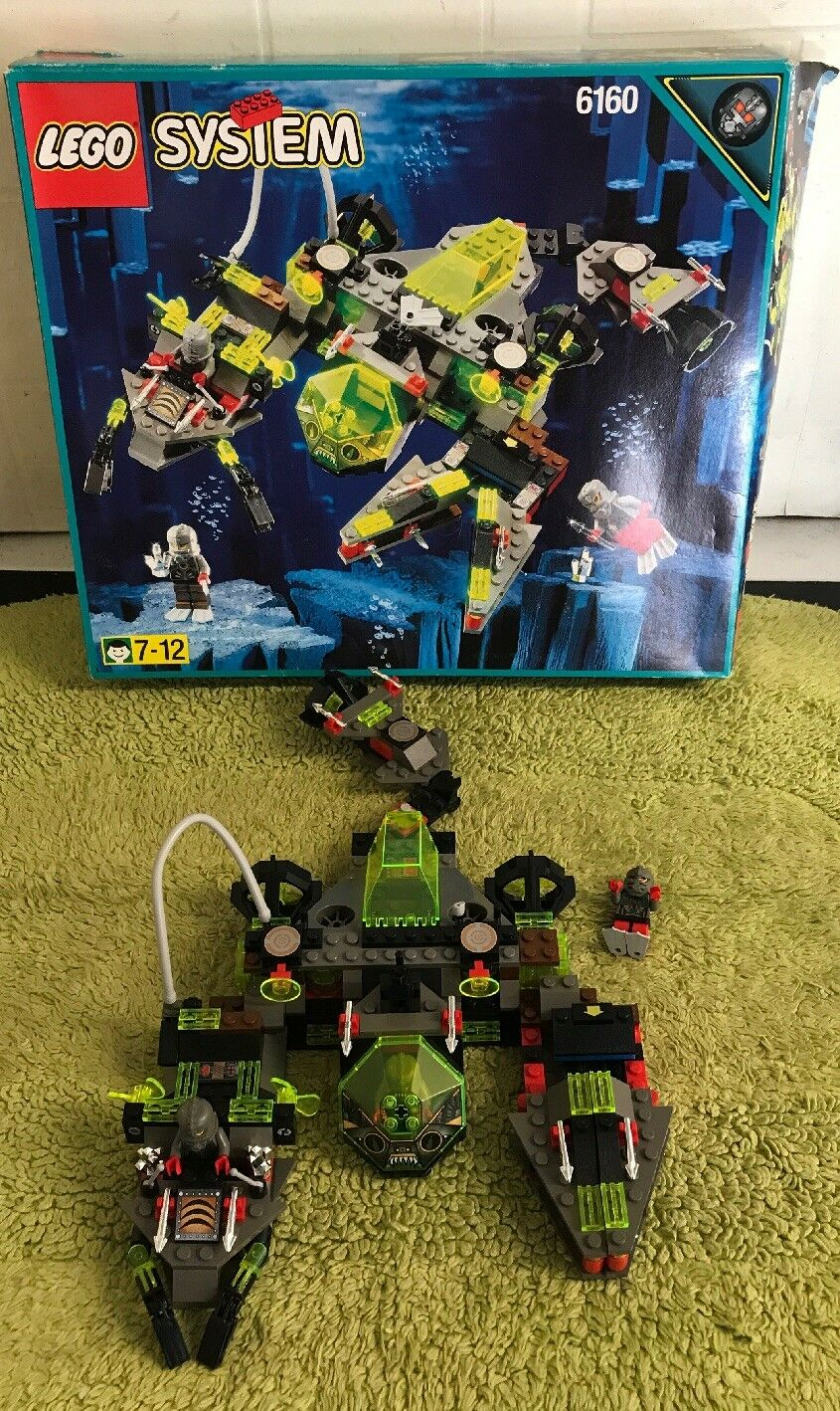 Lego system - 6160 - complete with instructions and boxed