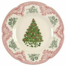 Johnson Brothers OLD BRITAIN CASTLES PINK CHRISTMAS Salad Plate 5432489