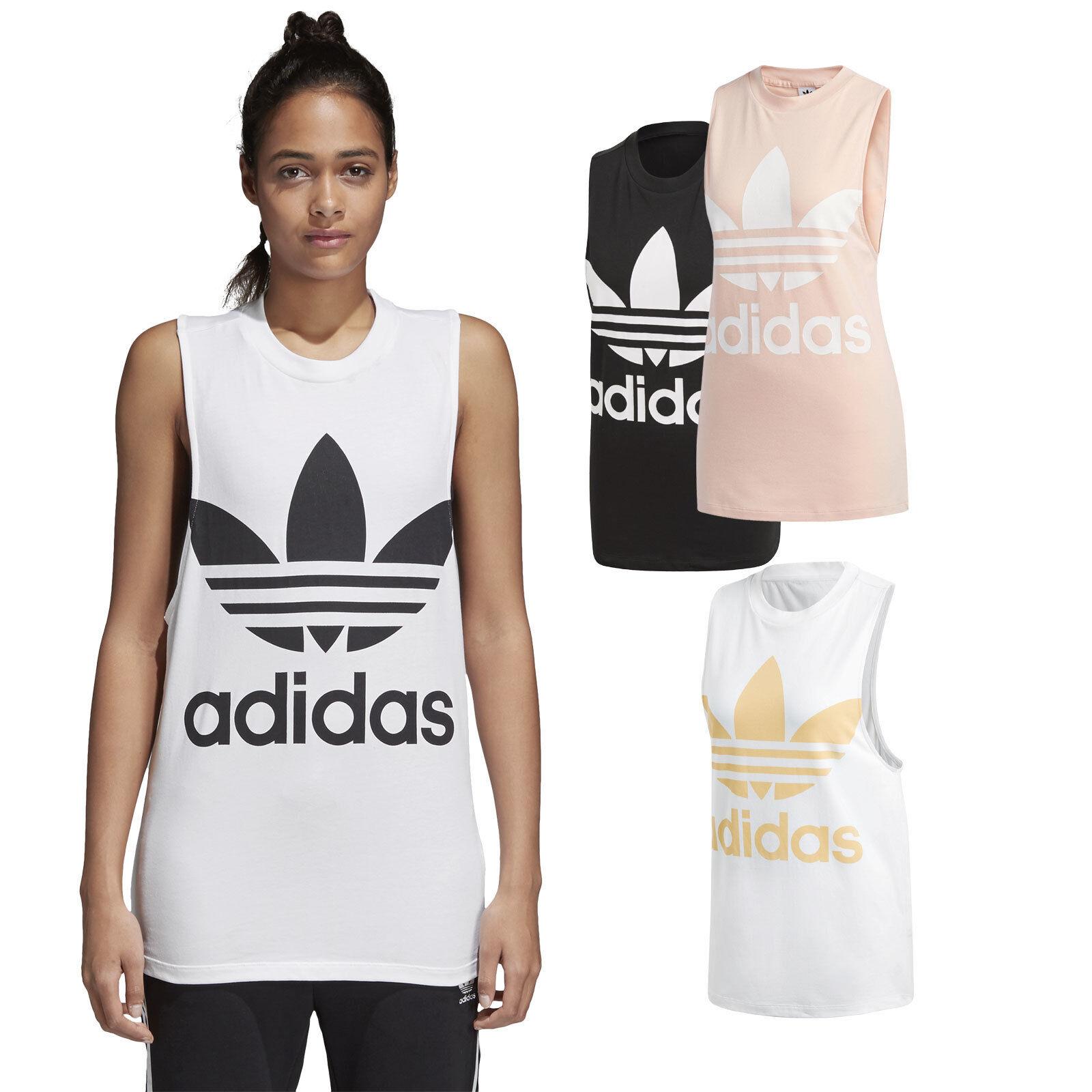 Adidas Originals Trefoil Tank női póló top póló felsőrész relaxed fit