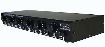 Calrad Dual Source/6 Zone Speaker Selector w/ Impedance Matching Volume Control