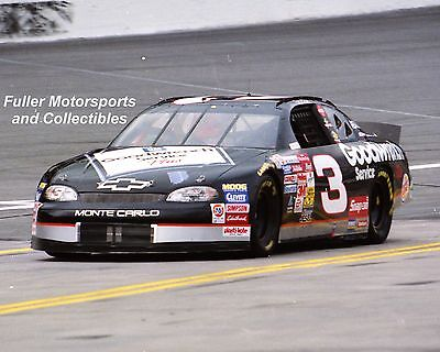 DALE EARNHARDT SR #3 GM GOODWRENCH 1999 NASCAR WINSTON CUP 8X10 PHOTO CHARLOTTE