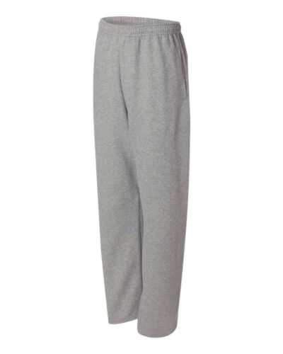 Jerzees Size S 3XL Sweatpants Open Bottom With Pockets 974MPR