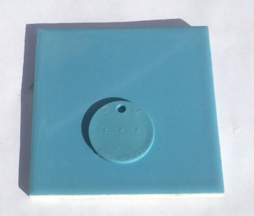 1 Sq Ft 4x4 Vintage Tile in New Orleans Blue Surplus /'Atco/'