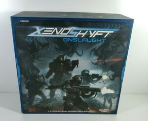 Xenoshyft Onslaught Board Game Cool Mini or Not 2015