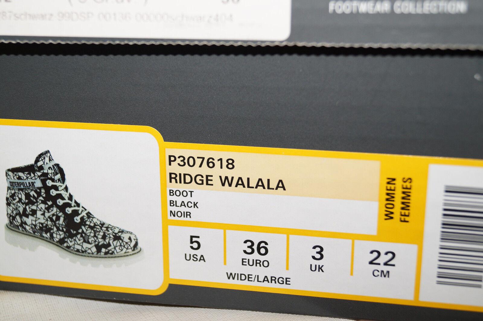 Caterpillar Ridge Walala Womans Damen weiss Schnürboots EU.36 UK.3 schwarz weiss Damen c79a15