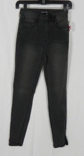 D1-10 NEW Sneak Peek Black Wash Stretch Skinny High Rise Jeans