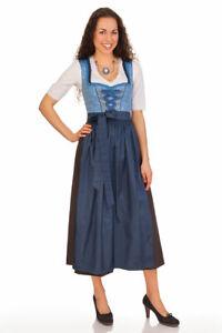 Stützle Damen Dirndl Trachten Kleid lang Rosi hellblau ...