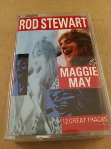 Rod Stewart : Maggie May : Vintage Cassette Tape Album