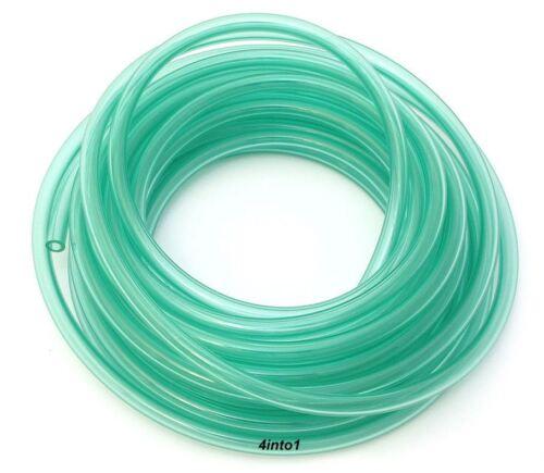 "3/' Feet Helix Clear Green 1//8/"" Polyurethane Fuel // Vent Line 3mm"