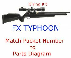 FX Typhoon O'ring Kit