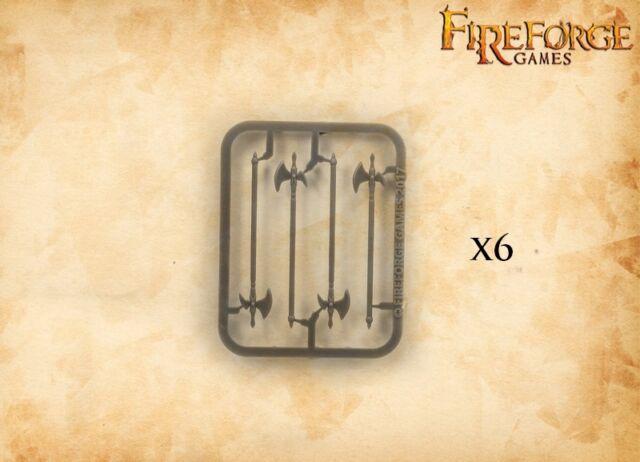 MODEL DV008 FIREFORGE GAMES HALBERDS TYPE 1 24PCS.