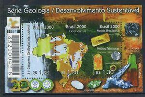 Brasilien MiNr. Block 111 postfrisch MNH Expo 2000 (1A077
