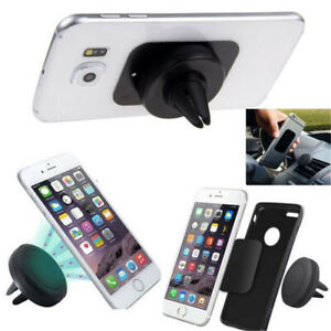 Telephone-Portable-Support-Voiture-Magnetique-Grille-Ventilation-Universel-Smartphone-voiture
